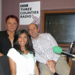 Mikat BBC3CR with Chetna and Toby