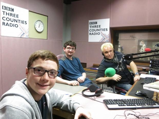 BBC3CR Xmas Mik&George 02