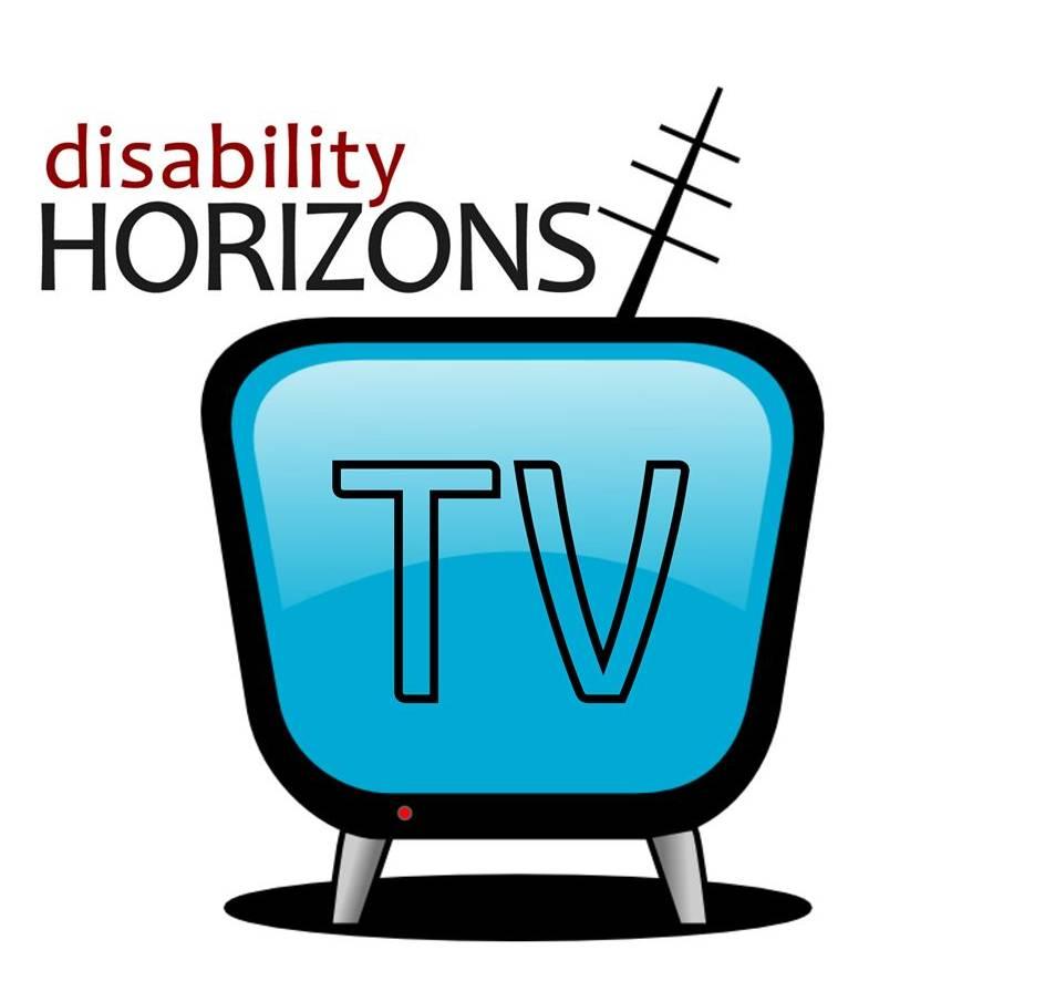 Promo banner for DHTV, logo